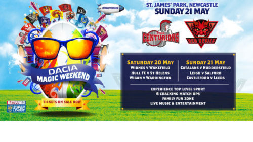 Order Your Dacia Magic Weekend Tickets Today!