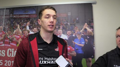 Liam Forsyth Post York Match