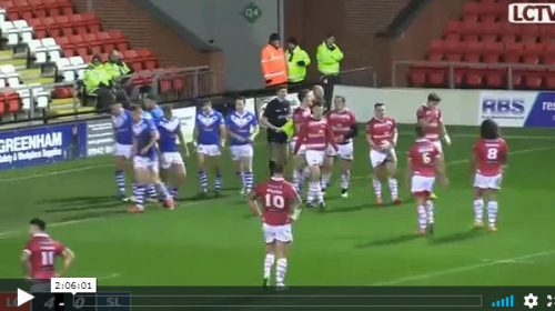 Leigh Centurions Vs Swinton Lions – 2016