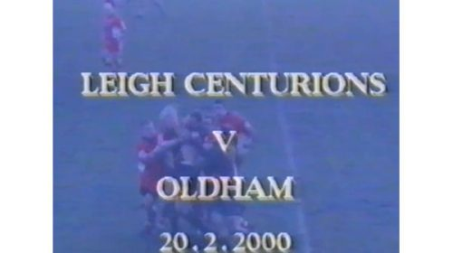 Leigh Centurions Vs Oldham – Northern Ford Premiership – 2000