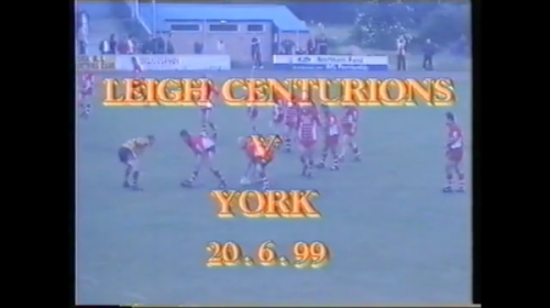 York Wasps Vs Leigh Centurions – 1999 – Northern Ford Premiership
