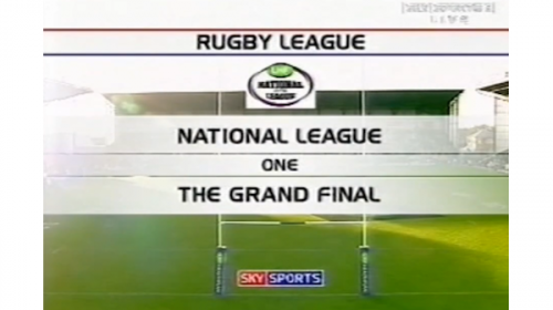 Leigh Centurions Vs Whitehaven – LHF National League 1 Grand Final – 2004