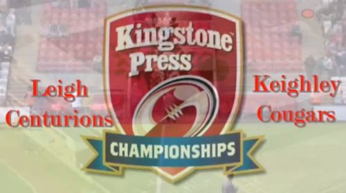 Leigh Centurions Vs Keighley Cougars – Kingstone Press Championship – 2013
