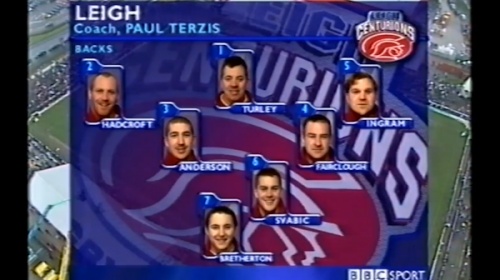 Leigh Centurions Vs Salford City Reds – Challenge Cup – 2001