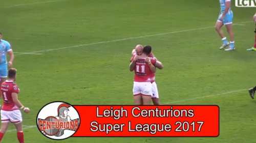 Leigh Centurions Vs Huddersfield Giants – Super 8s Qualifiers – 2016