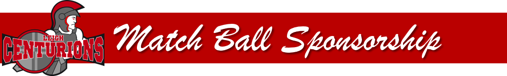 match ball sponsorship