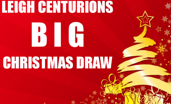 Have You Got Your Tickets For The Big Christmas Draw?