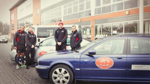 JR's Taxis Become Leigh Centurions' Official Taxi Partner