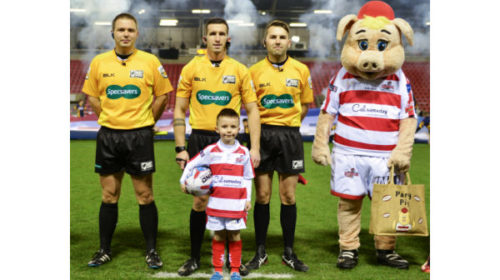 Dream Come True For Five-Year-Old Leigh Centurions Fan Who Beat Cancer