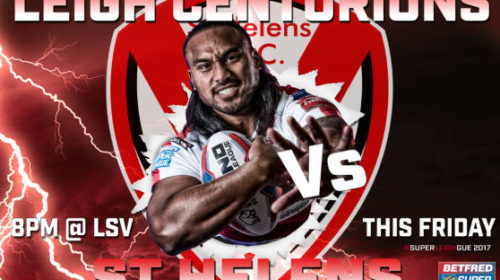 North Stand Sold Out For Leigh Centurions Vs St Helens Tonight