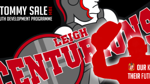Centurions Launch Tommy Sale MBE Youth Development Programme In Partnership With Leigh College