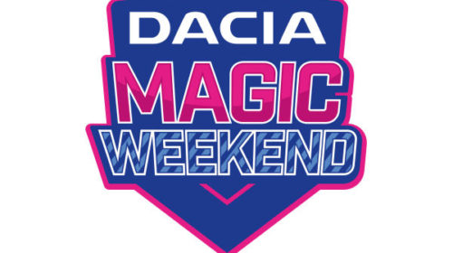 Tickets For The Dacia Magic Weekend Available To Buy & Collect At The Ticket Office
