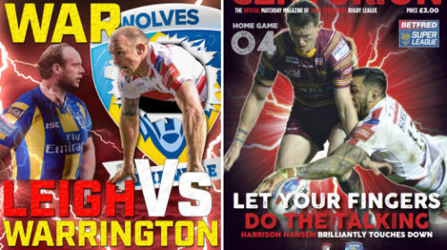 Big Game Night! Leigh Centurions Vs Warrington Wolves