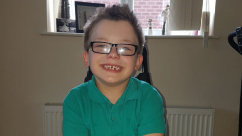 Inspirational Alfie To Bring Out Match Ball At Friday's Catalans Game