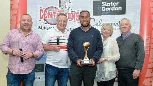 Atelea Vea Wins The Tommy Sale MBE LCTV Player Of the Year Award