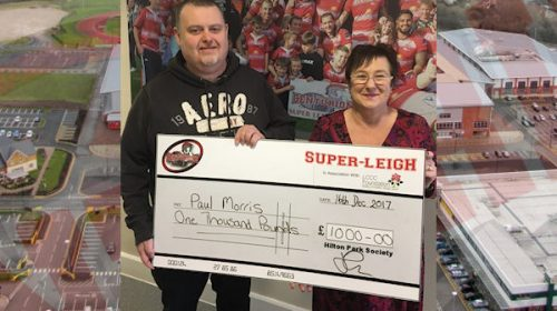 Leigh Centurions Big Christmas Draw Results