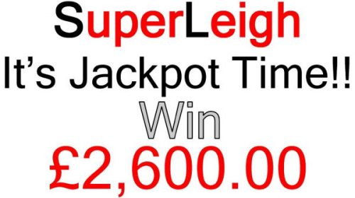 It's SuperLeigh Jackpot Draw Time!