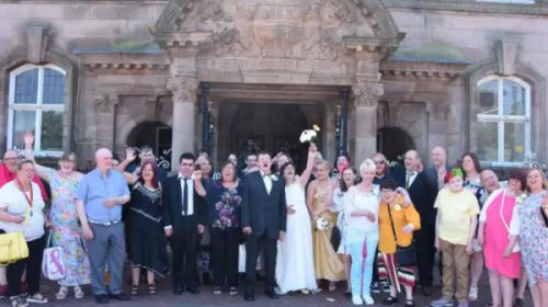 Community Helps Couple To Tie The Knot