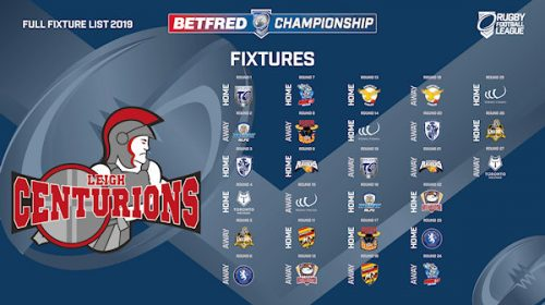 2019 Betfred Championship Fixtures Announced