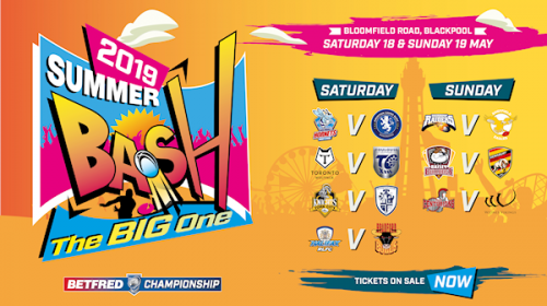 Betfred Championship Summer Bash Returns To Blackpool This May