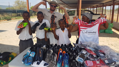 Golborne Parkside Pirates & Leigh Centurions Spread Christmas Cheer in South Africa