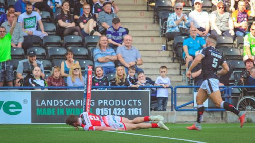 Pownall Clocks Up 100 Career Tries