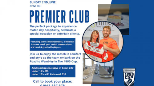 1895 Cup Hospitality – Special Offer