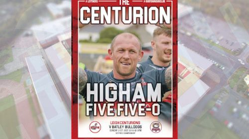 Download The Leigh Centurions Vs Batley Bulldogs Programme Now!