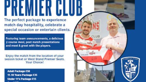 Tickets & Hospitality For Leigh Centurions Vs Featherstone Rovers In The Betfred Championship Play Offs On Sale Now!