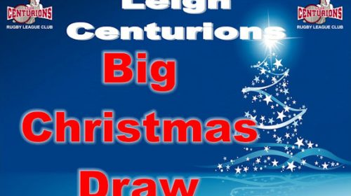 Get Your Tickets For A Chance To Win £1,000 On The Big Christmas Draw!